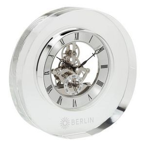 Olbia Crystal Desk Clock