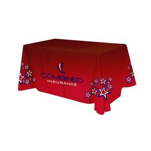 Polyester Digital Direct Print Table Cover 4 sided, 6 foot