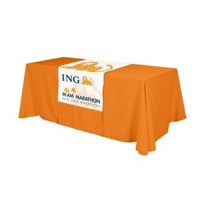 "Full Color Polyester Top Table Runner (18"" Front)"